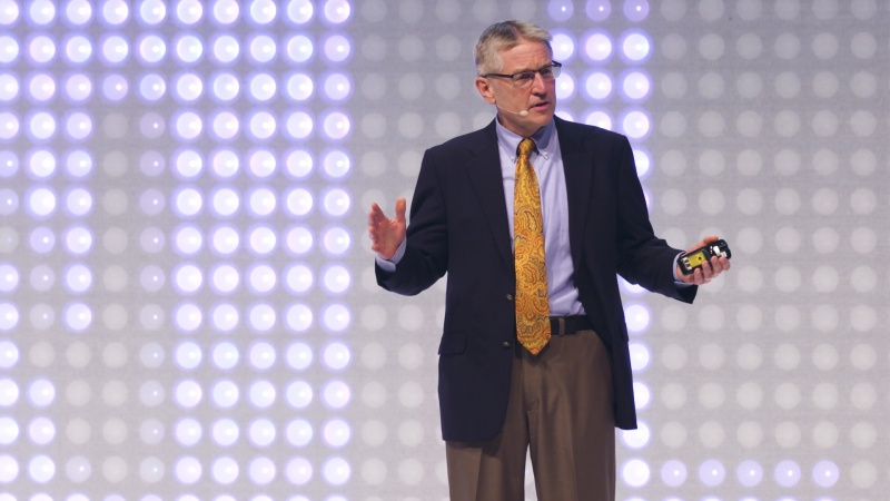 """CDNLive EMEA 2017: Tom Beckley's keynote – """"Drive On: Where are the Flying Automobiles?"""""""