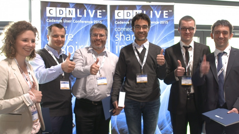 Meet the CDNLive EMEA 2015 Best Paper Winners